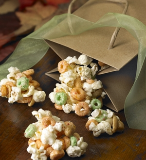 Apple Popcorn Brittle
