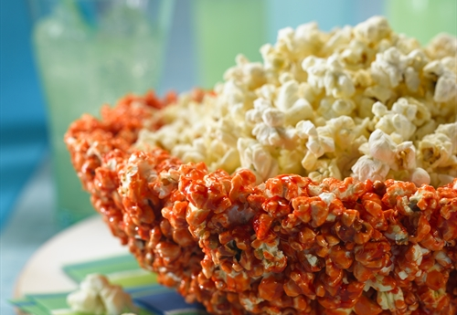 Edible Popcorn Party Bowl