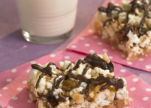 English Toffee Popcorn Bars
