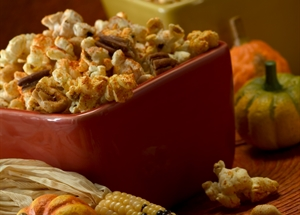 Spicy Cajun Popcorn and Nuts