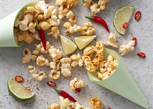 Chili Lime Popcorn Snack Mix