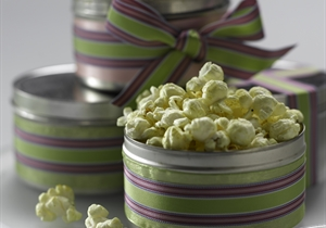 Lime Pickle Popcorn Snack Mix