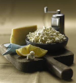 Lemon Pepper and Parmesan Popcorn