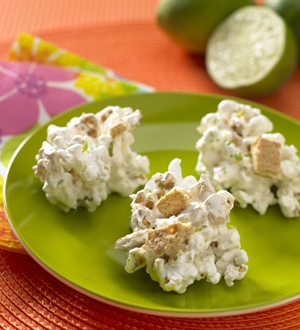 Key Lime Popcorn Clusters