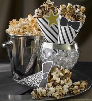 Toasted Coconut and Chocolate Popcorn