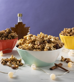 Cinnamon Maple Popcorn Crunch