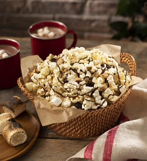 Simple Popcorn S'mores