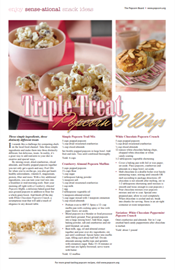 Triple Treat: Popcorn 3 Ways