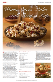 Warm Spices Make Fall Recipes Pop