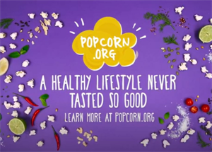 Healthy Lifestyles Begin with Popcorn