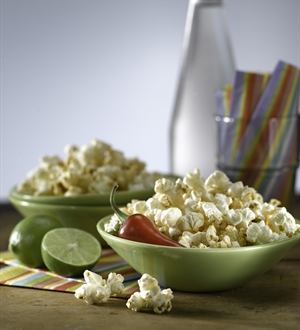 Chili Lime Popcorn Snack