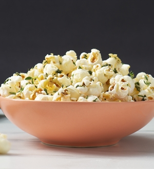 Garlic & Herb Butter Popcorn