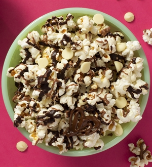 Triple Chocolate Popcorn