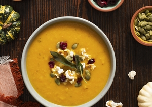 Fall Harvest Soup Topper