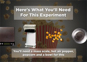 How Much Water Does Popcorn Contain?